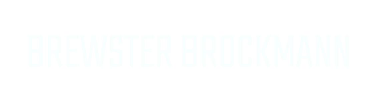 BREWSTER BROCKMANN